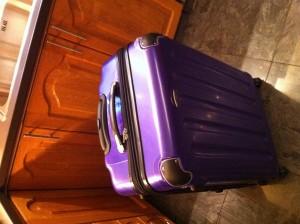 min nya supersnygga resväska!!