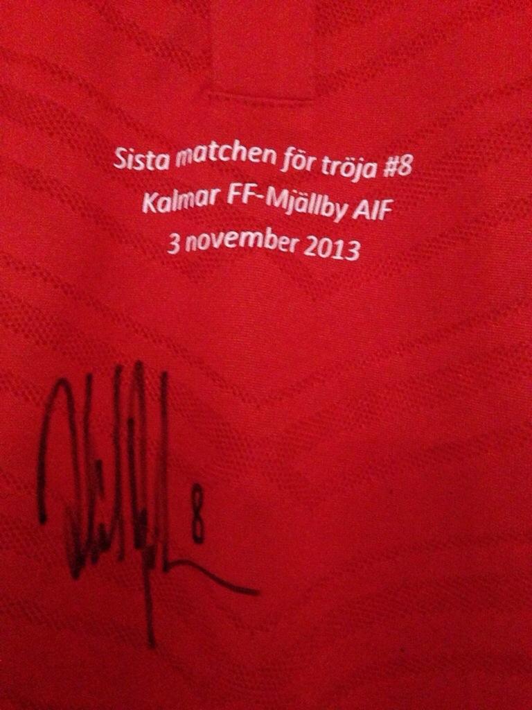 Rydströms autograf
